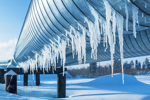 How Does Cold Weather Impact Natural Gas Pipelines