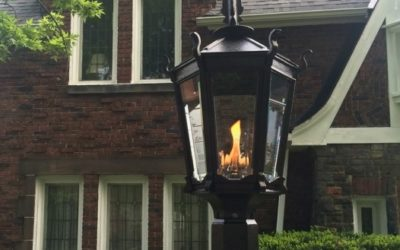 Give Your Home Exterior the 'Gas Light Glow'