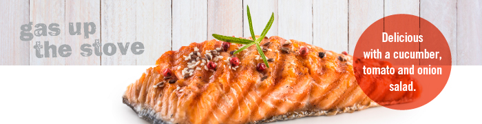 Spiced Up Grilled Salmon