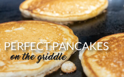 Perfect Pancakes on the Griddle