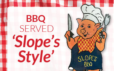 BBQ Served 'Slope's Style'