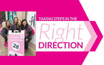 Taking Steps in the Right Direction